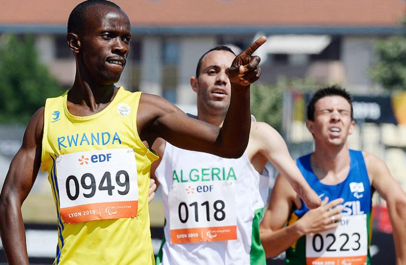 Rwandan Paralympic delegation heads to Congo Brazaville for All African Games 2015