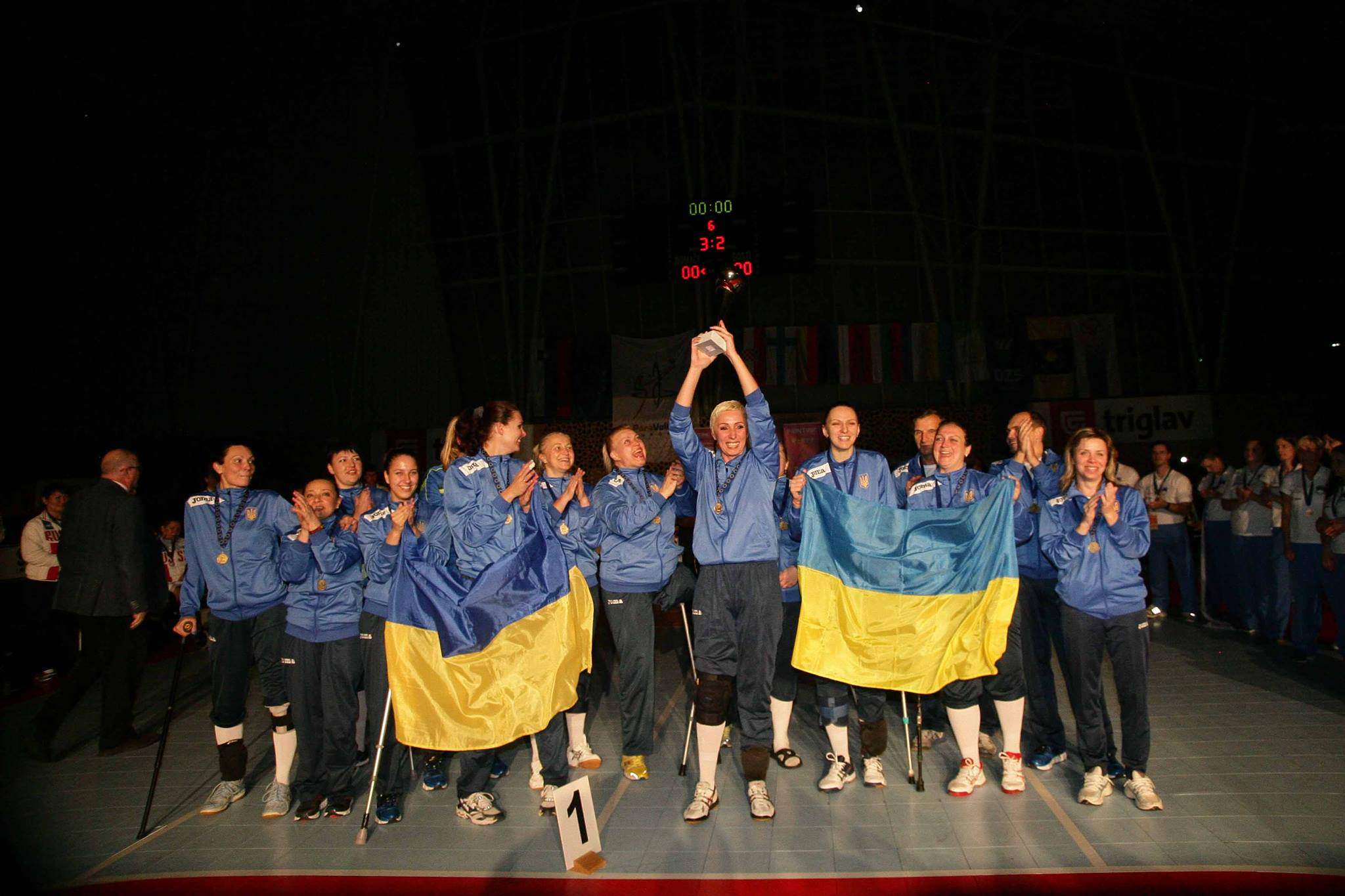 Ukraine, the 7th team to qualify for Rio2016